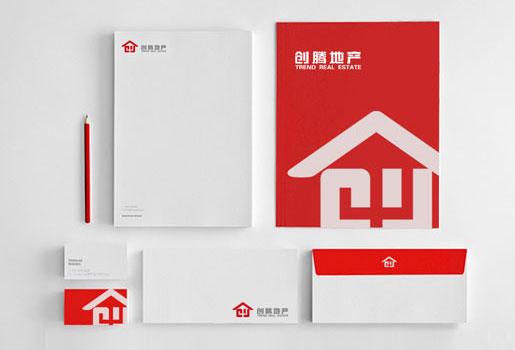 创腾集团logo标识设计